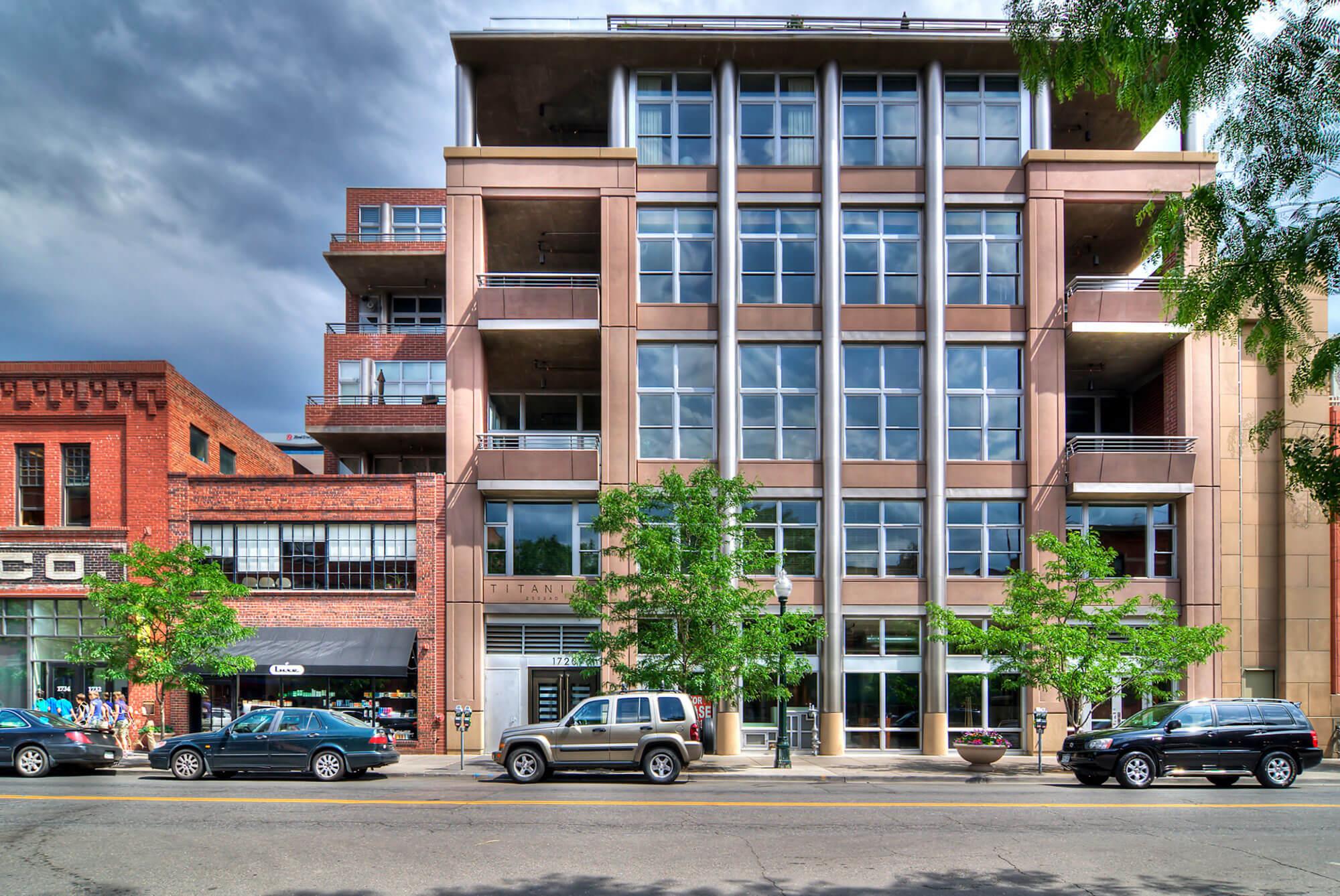 Downtown Denver loft for sale at Titanium Lofts in Lodo