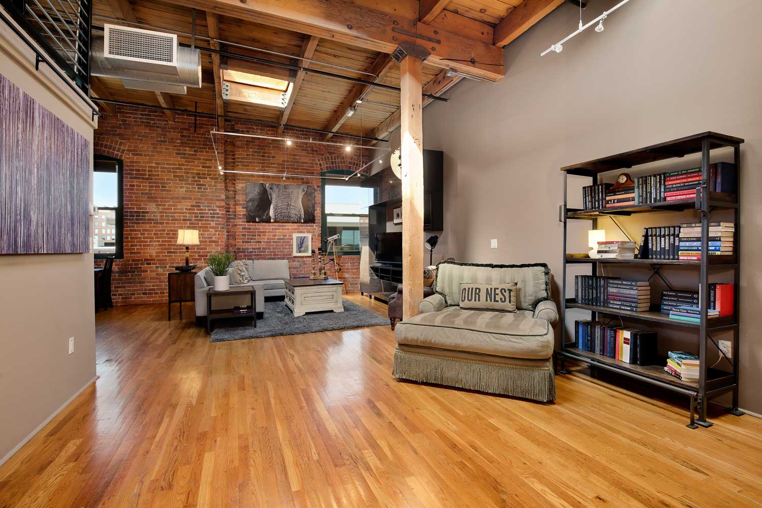 Denver lofts for sale at the historic Ice House