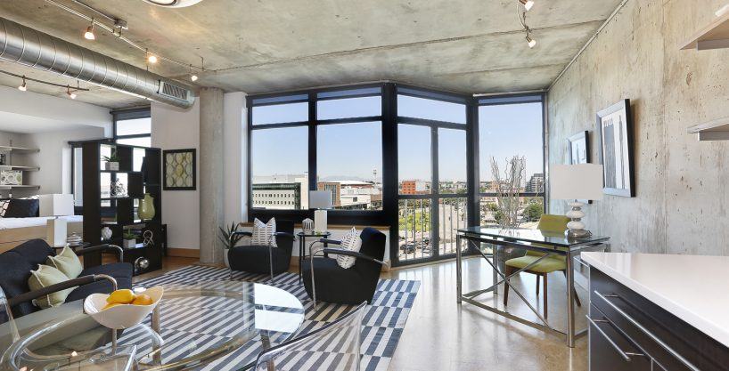 Modern condo for sale at Residences at Lawrence Street